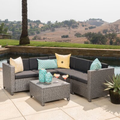 Chia 6 Piece Sectional with Cushion