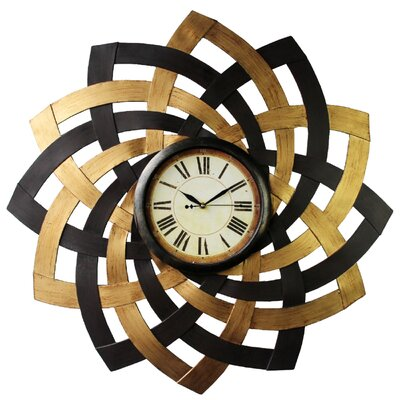 . Hazelwood Home Wall Clock   Reviews   Wayfair