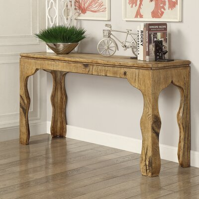 . Hazelwood Home Maple Console Table and Side Tables   Reviews   Wayfair