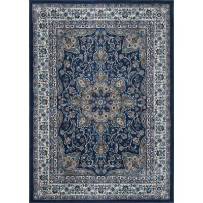 andover mills tremont blue area rug & reviews | wayfair