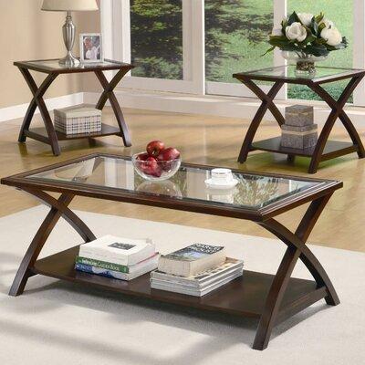 Andover Mills Beyers 3 Piece Coffee Table Set Reviews Wayfair