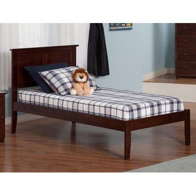 harriet bee alanna extra long twin platform bed with open foot u0026 reviews wayfair