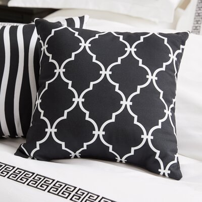 Reuter Trellis Polyester Throw Pillow by Andover Mills