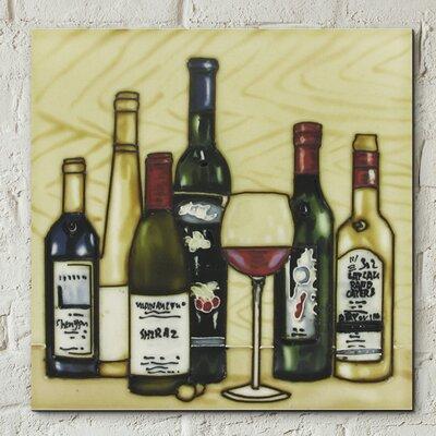 Castleton Home Vintage Wine Selection Kitchen Wall Décor & Reviews ...