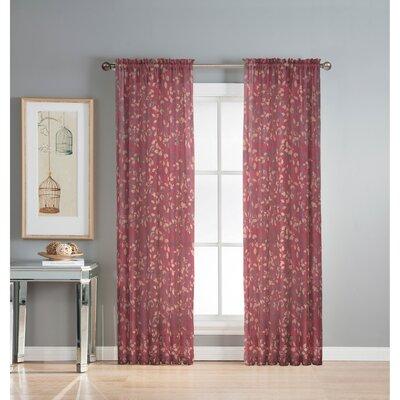 Curtains Ideas batik curtain panels : Window Elements Pinehurst Printed Sheer Curtain Panels & Reviews ...