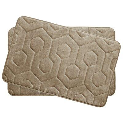 Bath Studio Hexagon Small Plush Memory Foam Bath Mat U0026 Reviews | Wayfair
