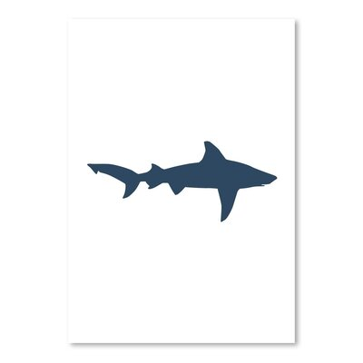 Americanflat 'Shark' by Jetty Printables Graphic Art