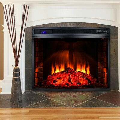 AKDY Freestanding Electric Fireplace Insert & Reviews