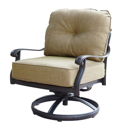 New Look Collection Lebanon Swivel Rocking Chair with Cushions by ...