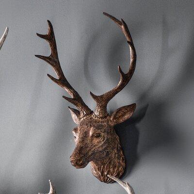 Deer Head Wall Decor alpenhome stag head wall décor & reviews | wayfair.co.uk