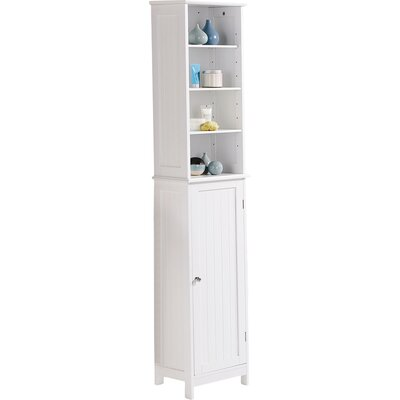 Turku 34 X 165 5cm Free Standing Tall Bathroom Cabinet