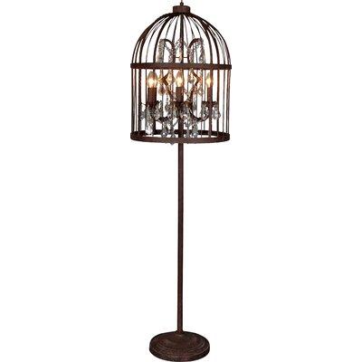 All Home Birdcage 160cm Floor Lamp & Reviews | Wayfair.co.uk