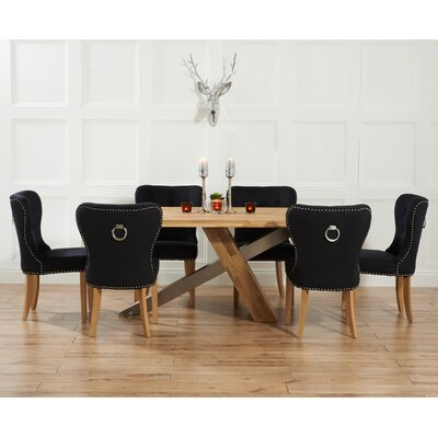 Home etc ohio dining table and 6 chairs for Table 6 ohio