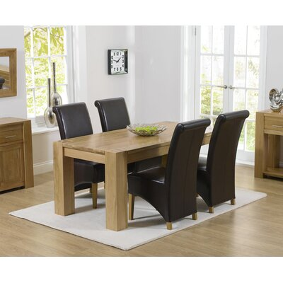 Home Etc Barrow Dining Table And 4 Chairs Wayfair Uk