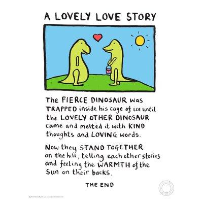 House Additions Edward Monkton Lovely Love Story Art Print Reviews Wayfair Co Uk