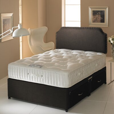 Home haus tennesse four drawer sprung 4000 divan bed for 4 drawer divan bed sale