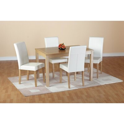Home Haus Ivana Dining Table And 4 Chairs Reviews