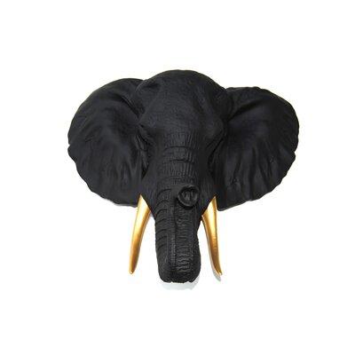 Elephant Wall Decor near and deer faux taxidermy elephant wall décor & reviews   wayfair