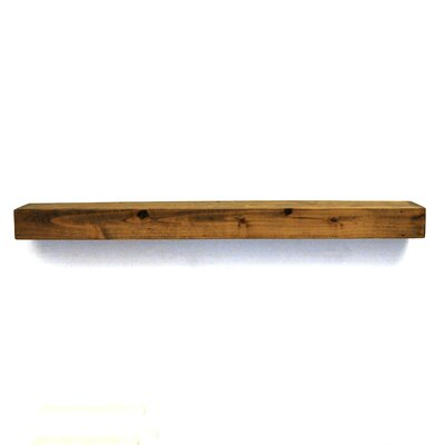 Floating Shelf dogberry collections mantel farmhouse floating shelf & reviews
