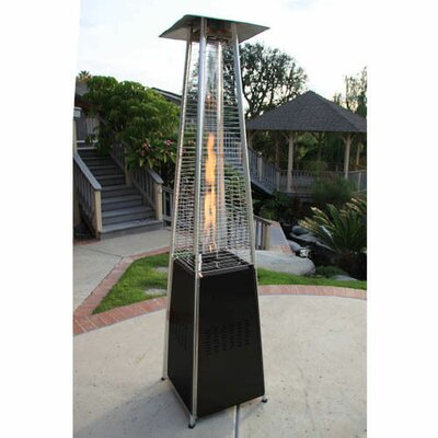 Garden Radiance Dancing Flames Pyramid Outdoor Propane