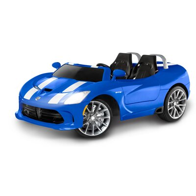 kid trax dodge viper srt 12v battery powered car reviews wayfair