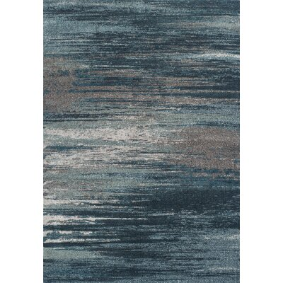 Modern Greys Teal Area Rug. By Dalyn Rug Co.