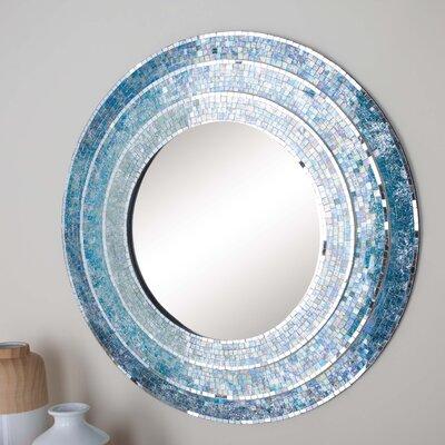 Turquoise Wall Mirror cole & grey mosaic wall mirror & reviews | wayfair