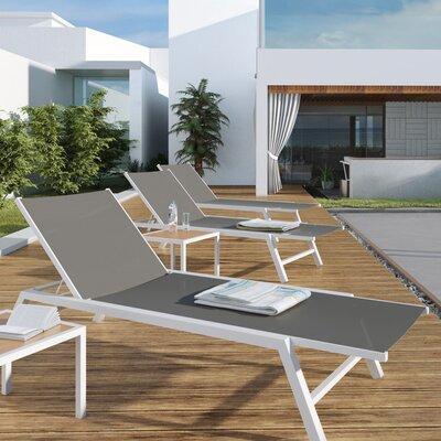 UrbanMod Outdoor Chaise Lounge U0026 Reviews | Wayfair