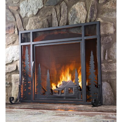 Plow & Hearth Fireplace Screen & Reviews | Wayfair