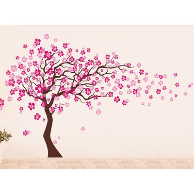 Charming Pop Decors Cherry Blossom Tree Wall Decal U0026 Reviews | Wayfair Part 29