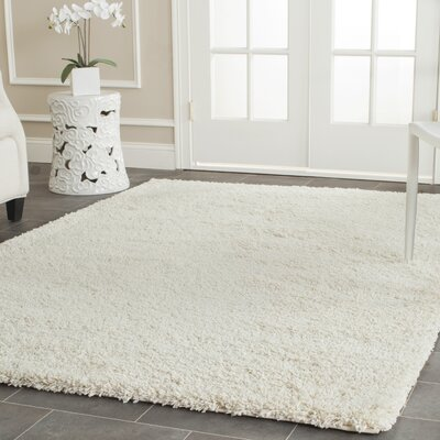 Mercury Row Yoan Handmade Shag And Flokati Ivory Area Rug U0026 Reviews |  Wayfair