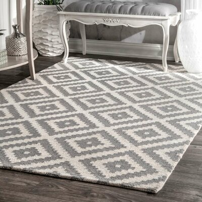 Mercury Row Obadiah Gray Area Rug U0026 Reviews | Wayfair