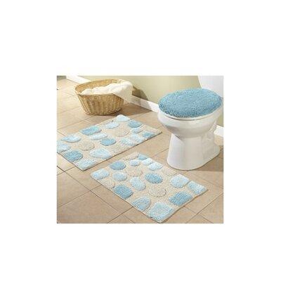 alan 3 piece bath rugs set & reviews   joss & main