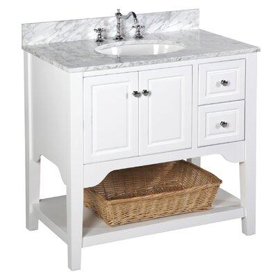 KBC Washington 36 Single Bathroom Vanity Set Reviews Wayfair