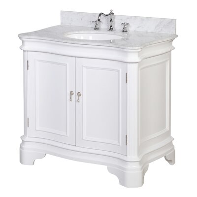 "Bathroom Vanities York Pa kbc katherine 36"" single bathroom vanity set & reviews 