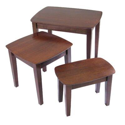 Nesting Tables red barrel studio espinosa 3 piece nesting tables & reviews | wayfair