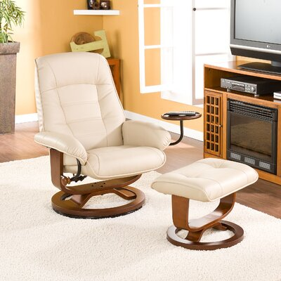 Red Barrel Studio Gibsonburg Ergonomic Manual Swivel Recliner with Ottoman u0026 Reviews | Wayfair & Red Barrel Studio Gibsonburg Ergonomic Manual Swivel Recliner with ... islam-shia.org