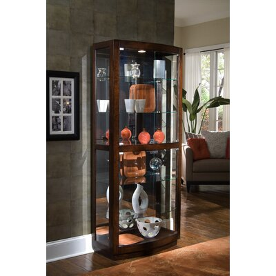 Red Barrel Studio Cheshire Curio Cabinet U0026 Reviews | Wayfair