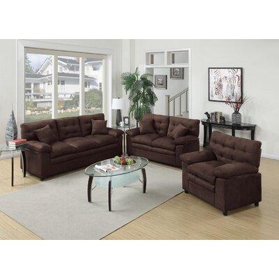 Awesome Red Barrel Studio Kingsport 3 Piece Living Room Set U0026 Reviews   Wayfair