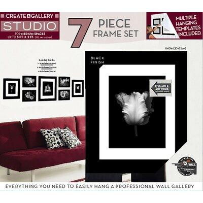 Wall Frame Set red barrel studio linntown 7 piece studio picture frame set
