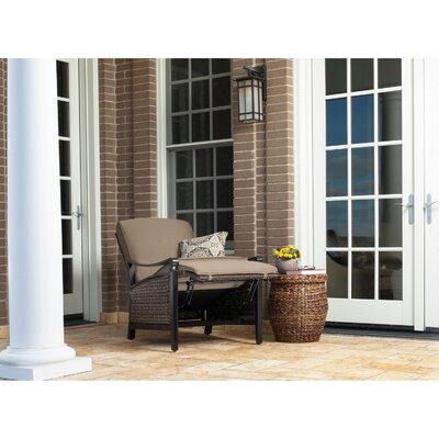 La Z Boy Carson Luxury Outdoor Recliner Chair With Cushions U0026 Reviews |  Wayfair