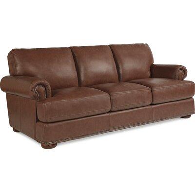 La-Z-Boy Andrew Leather Sofa & Reviews | Wayfair