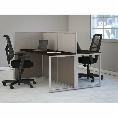 bush business furniture easy office standard desk office suite