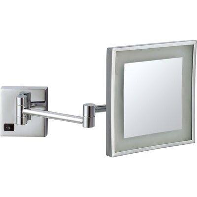 Wall Mount Vanity Mirror glimmernameeks led light wall mounted makeup mirror & reviews