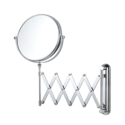 Wall Mounted Makeup Mirror glimmernameeks wall mounted makeup mirror & reviews | wayfair