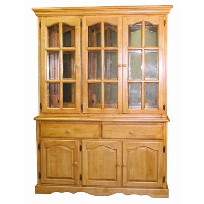 Sunset Trading Selections Dining Lighted China Cabinet Reviews