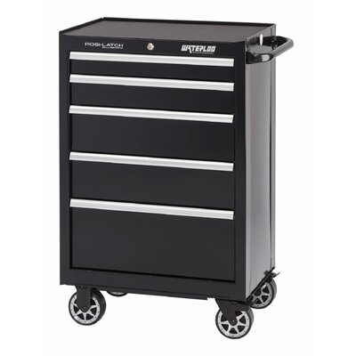 """waterloo industries professional series 26""""w 5-drawer tool chest"""