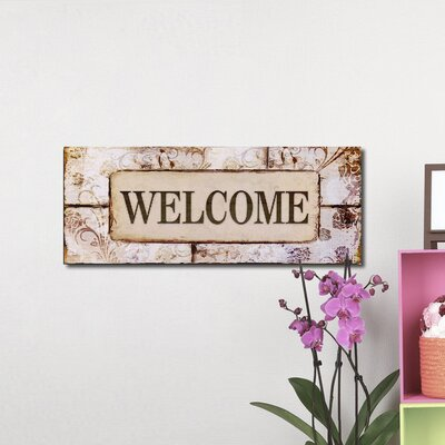 "Welcome Wall Decor adecotrading ""welcome"" wall decor & reviews 