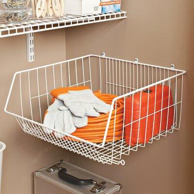 ClosetMaid Storage Basket U0026 Reviews | Wayfair