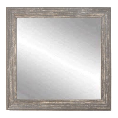 August Grove Tremiere Distressed Bathroom Mirror